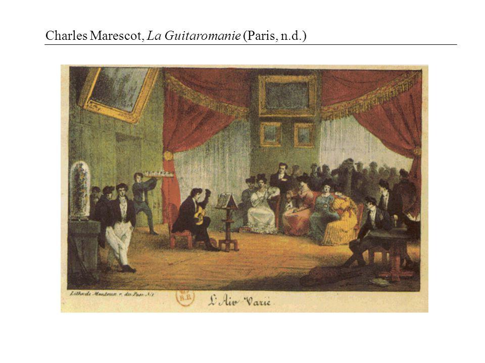 Charles Marescot, La Guitaromanie (Paris, n.d.)