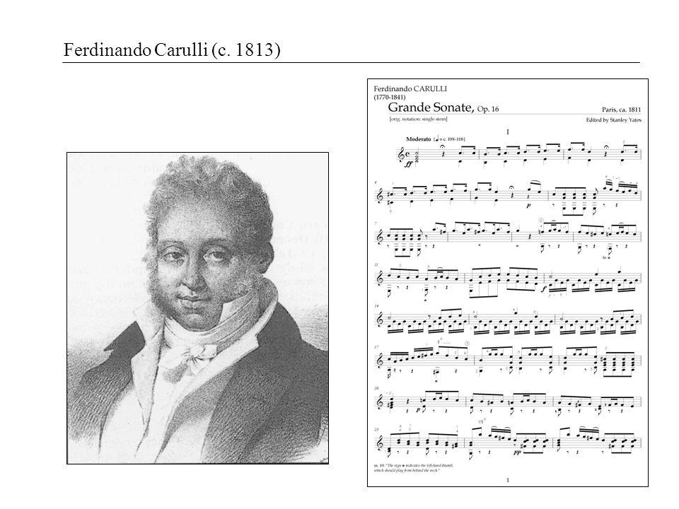Ferdinando Carulli (c. 1813)