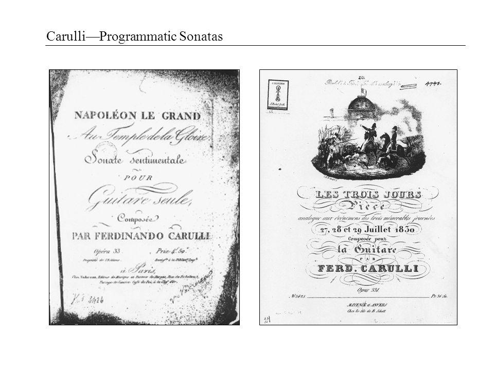 Carulli—Programmatic Sonatas