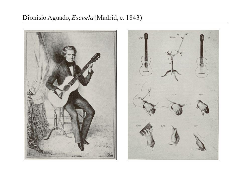 Dionisio Aguado, Escuela (Madrid, c. 1843)