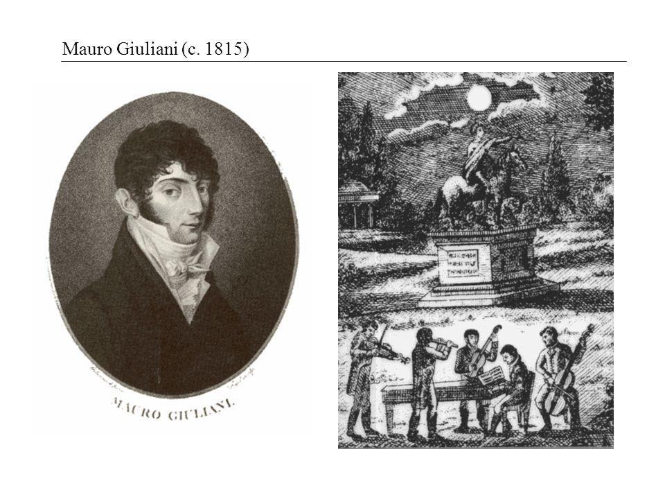 Mauro Giuliani (c. 1815)