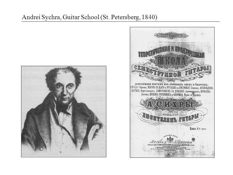 Andrei Sychra, Guitar School (St. Petersberg, 1840)