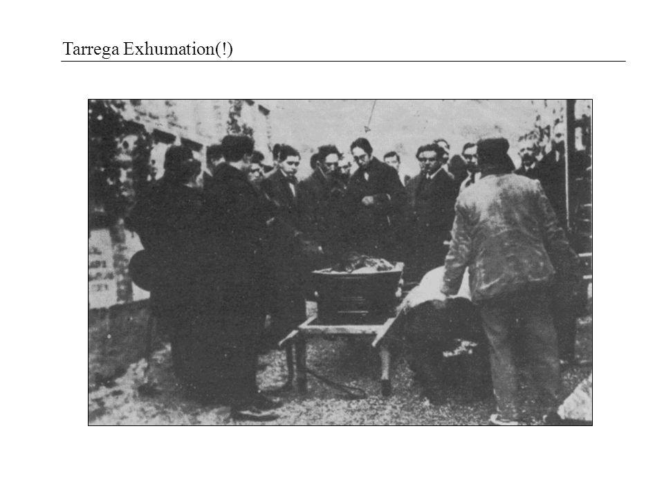 Tarrega Exhumation(!)