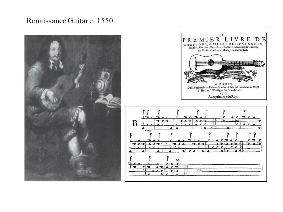Renaissance Guitar c. 1550
