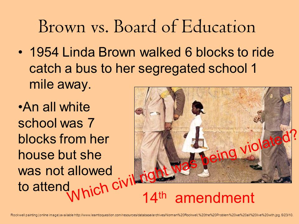 Brown vs.