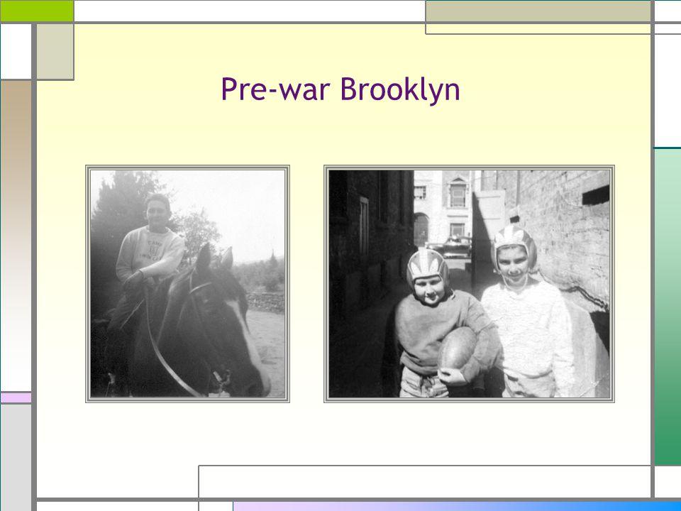Pre-war Brooklyn