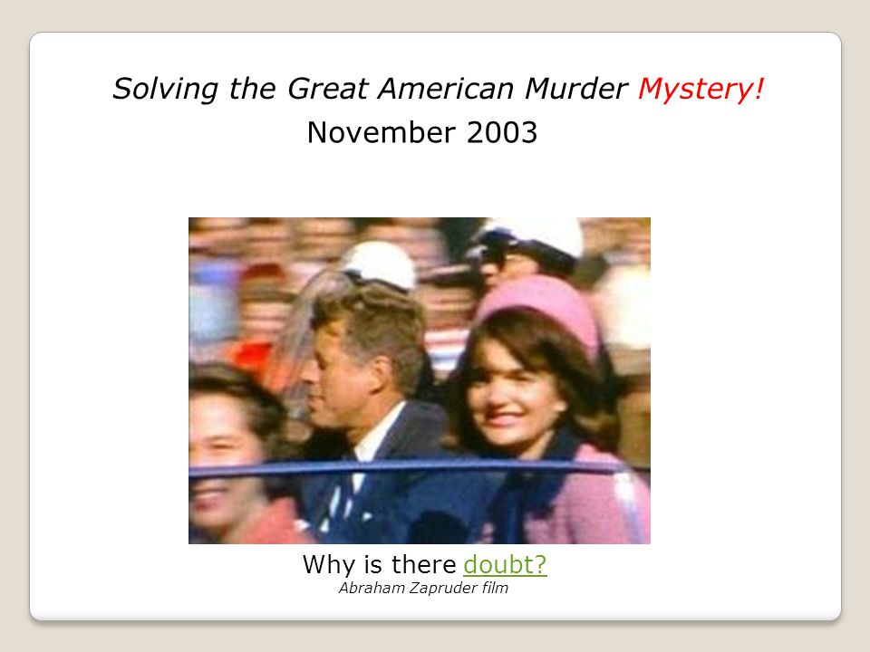 Who was Lee Harvey Oswald? Click on photo