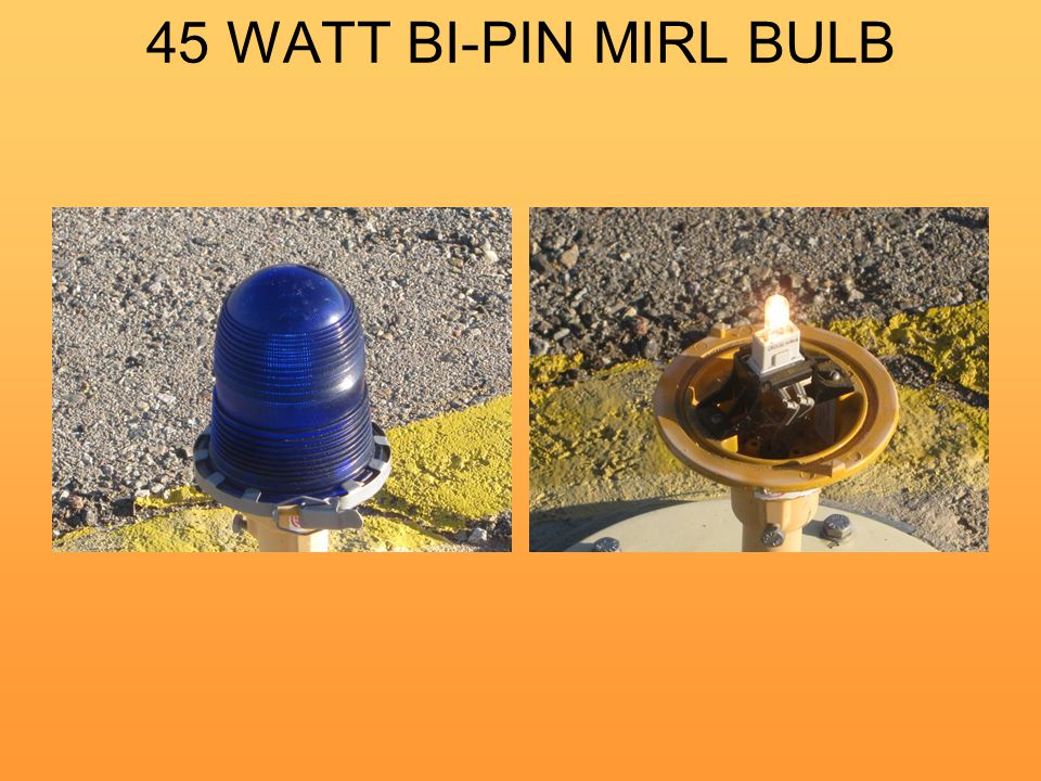 45 WATT BI-PIN MIRL BULB