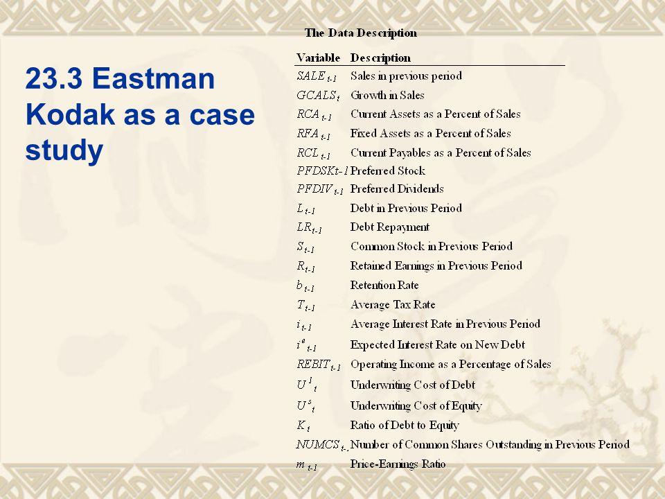 23.3Eastman Kodak as a case study