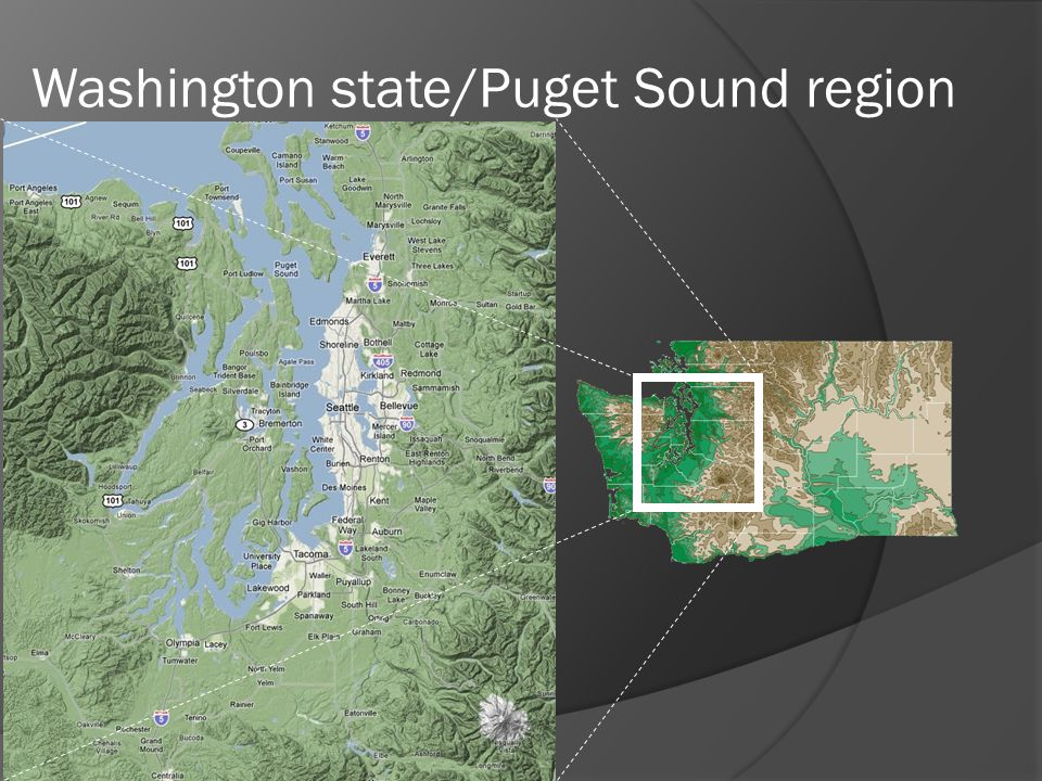 Washington state/Puget Sound region