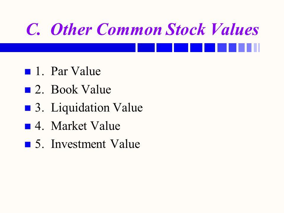 Buffet's Tenets (Cont.) n n Buffet's Management Tenets: 5.