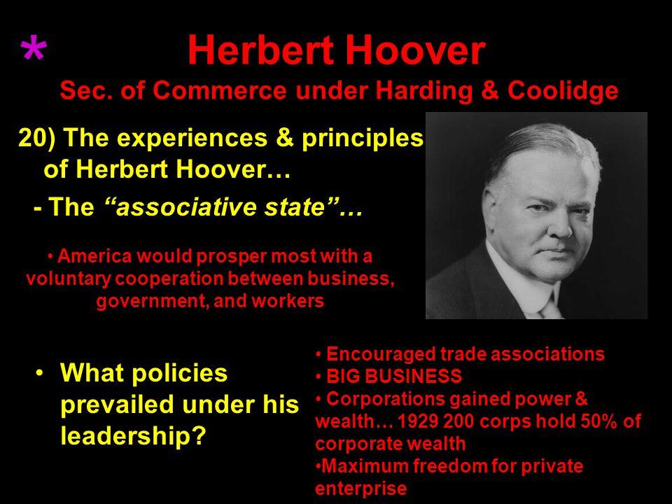 Herbert Hoover Sec.