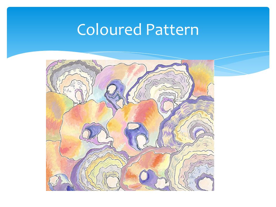 Coloured Pattern