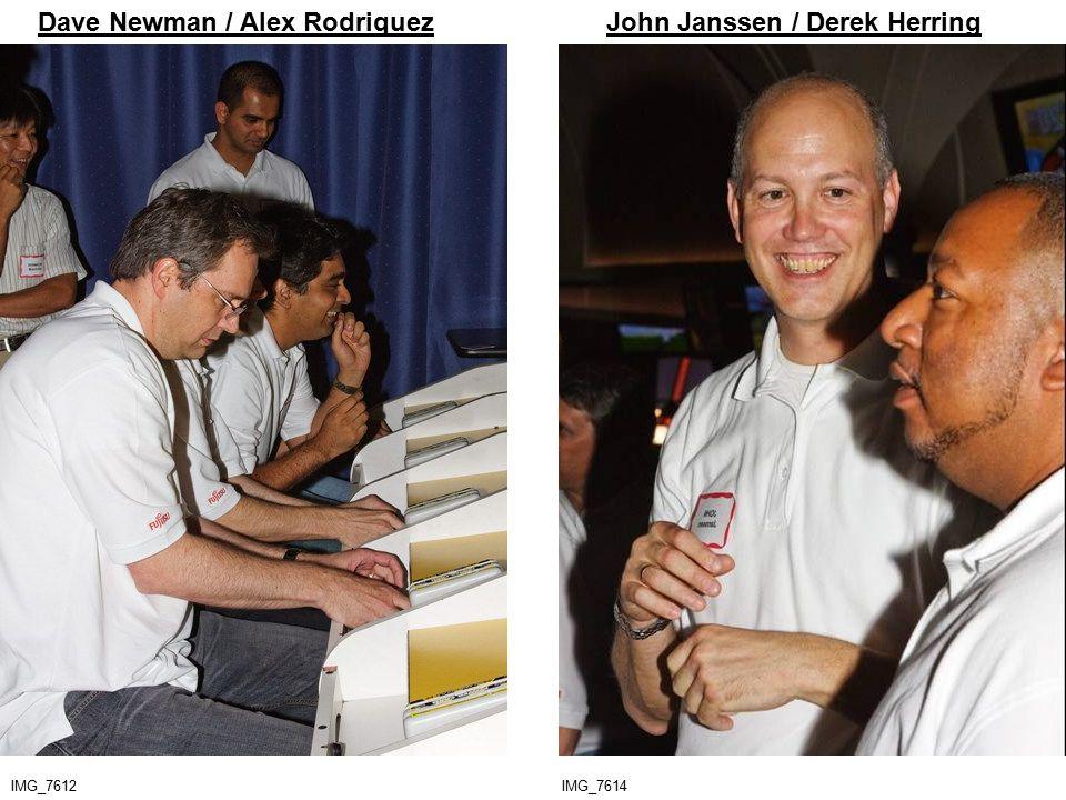 IMG_7612 Dave Newman / Alex Rodriquez IMG_7614 John Janssen / Derek Herring