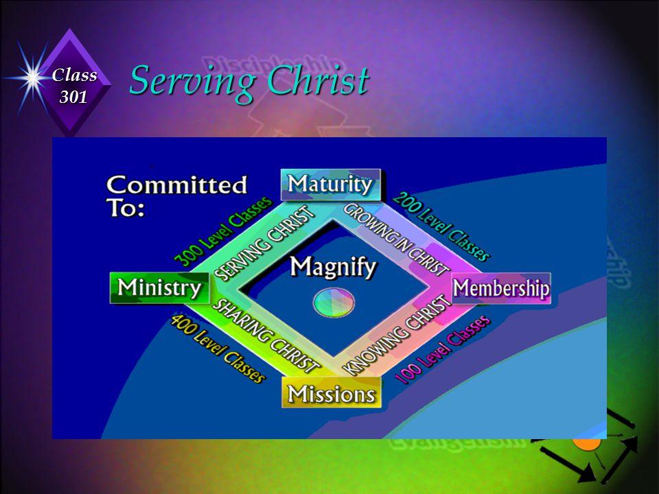 Class 301 Serving Christ