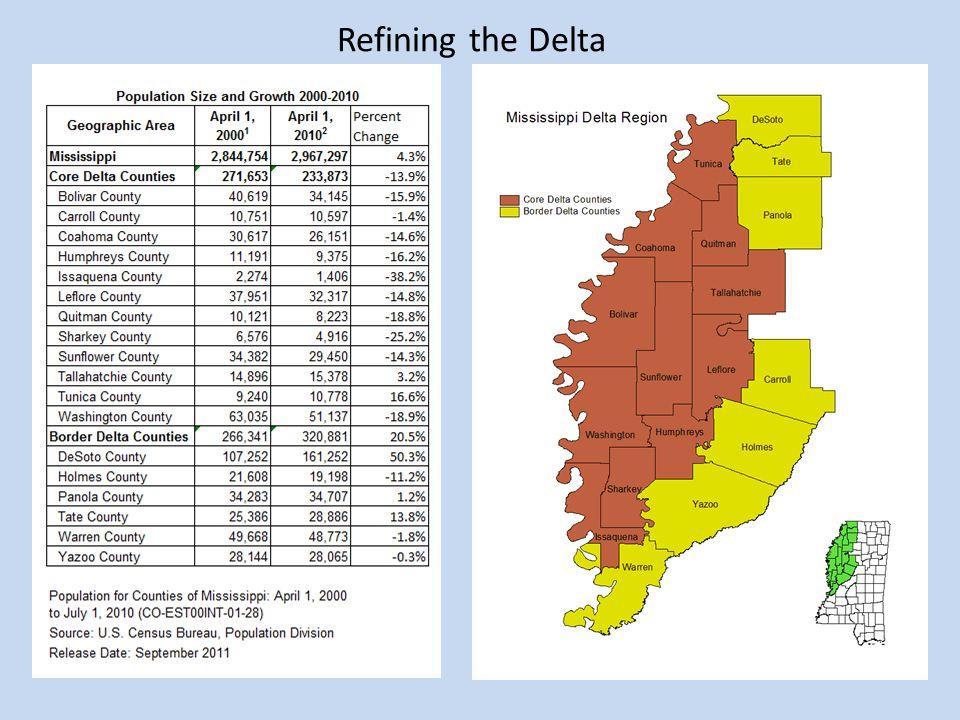 Refining the Delta