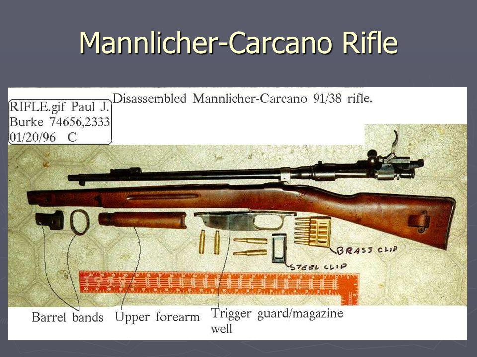 Mannlicher-Carcano Rifle