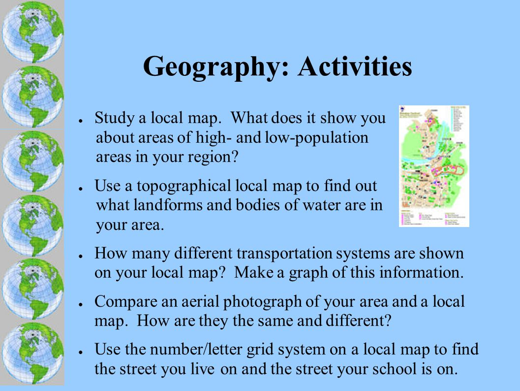 Geography: Web Sites ● USGS: Topograpic Map Symbols.