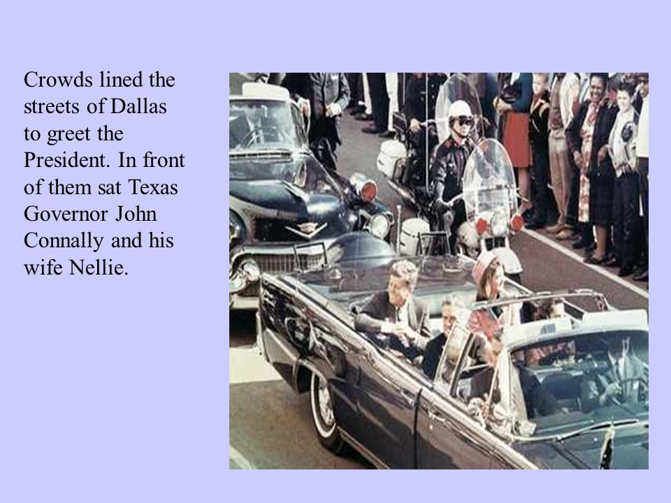 As the car approached a state building known as the Texas State Book Depository, rifle shots rang out.
