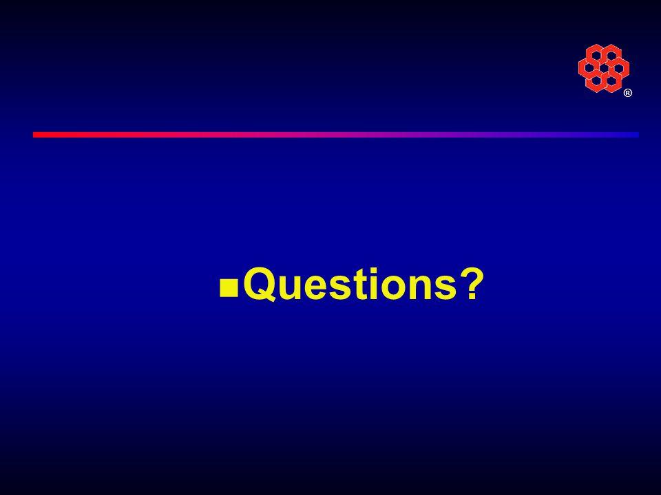 ® Questions