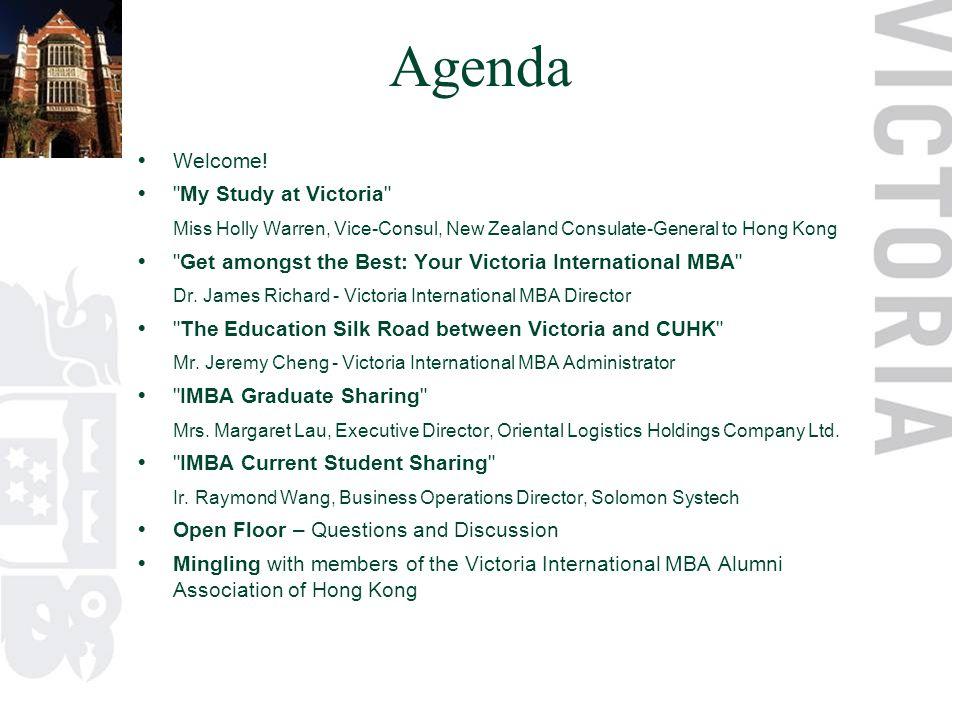 Agenda  Welcome.