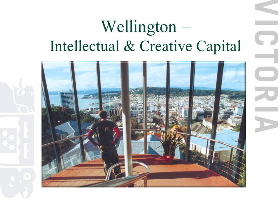 Wellington – Intellectual & Creative Capital
