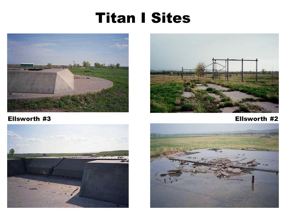 Titan I Sites Ellsworth #2Ellsworth #3