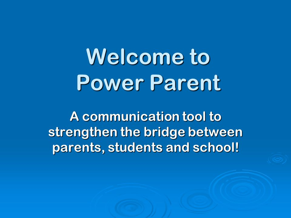 Resources Available  PowerParent User Guide  Email: powerparent@waw.misd.net powerparent@waw.misd.net  School Office: 586-439-4402  District Website: www.warrenwoods.misd.net www.warrenwoods.misd.net  Click on Schools – Warren Woods Tower  Click on PowerParent