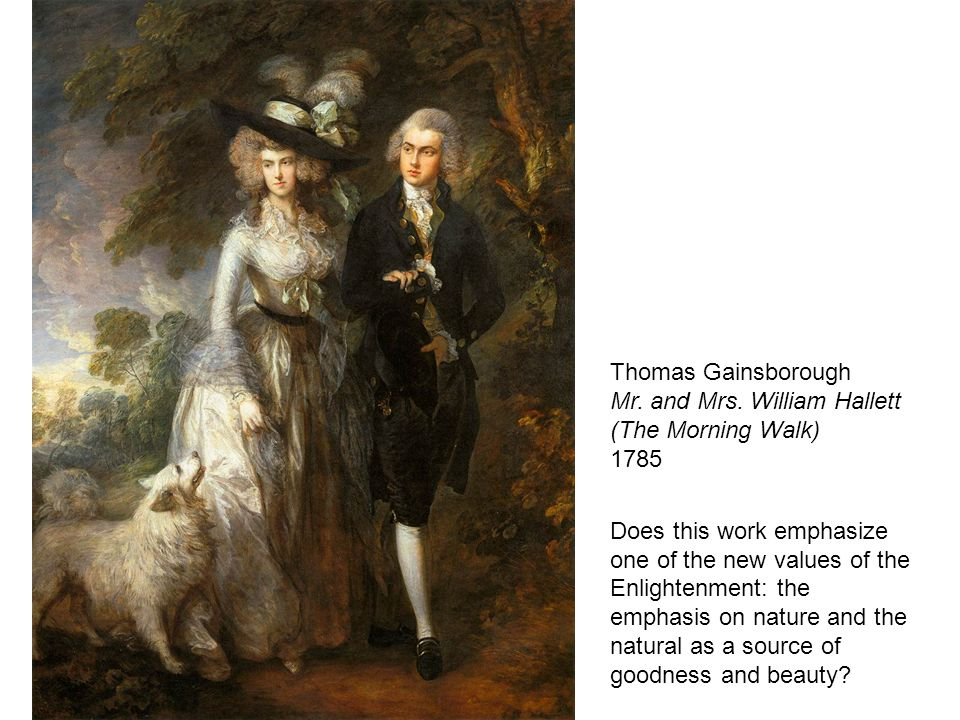 Thomas Gainsborough Mr. and Mrs.