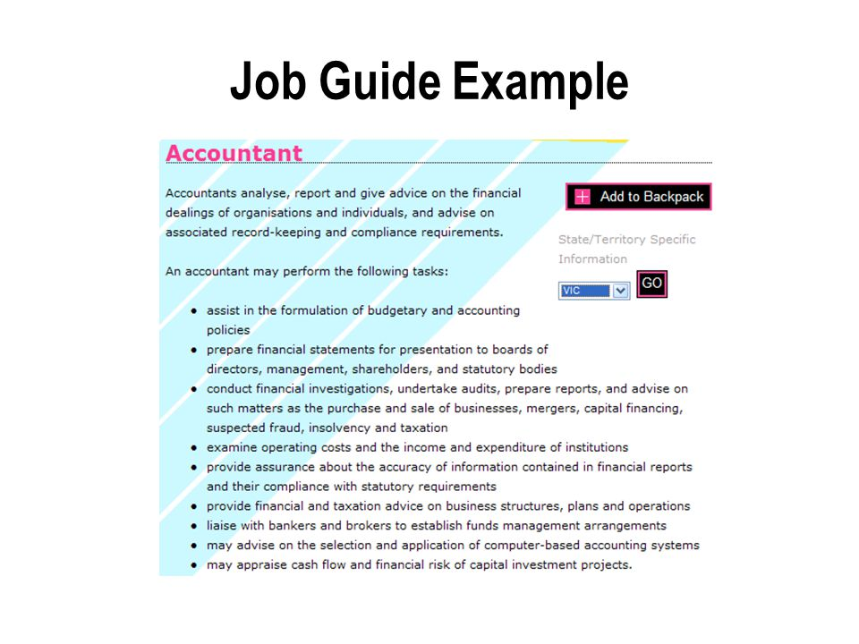 Job Guide Example