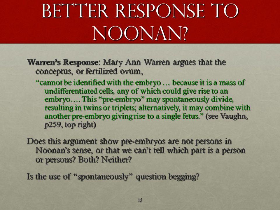 Better response to noonan.