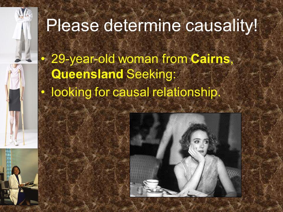 Please determine causality.