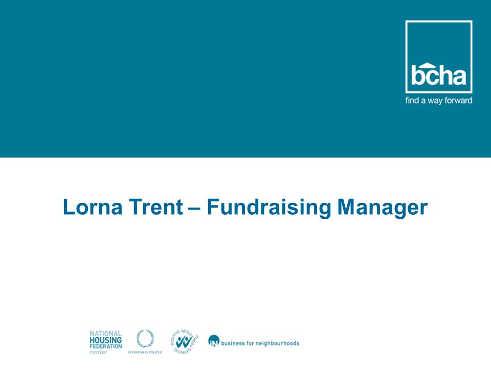 Welcome Lorna Trent – Fundraising Manager