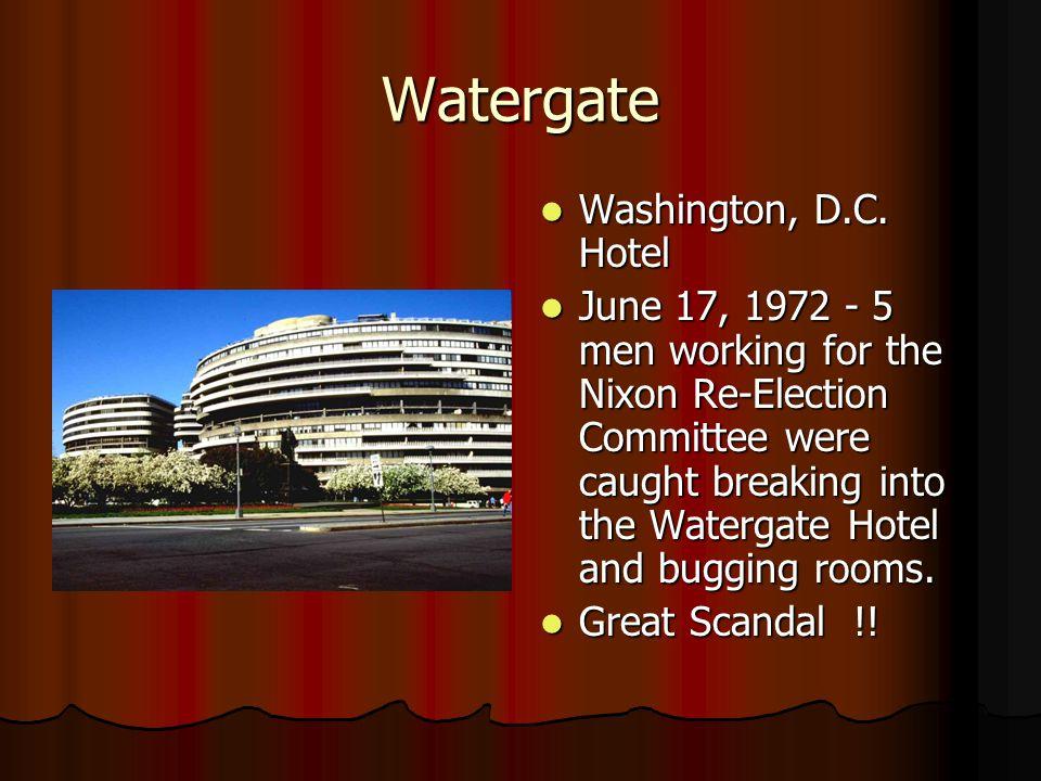 Watergate Washington, D.C. Hotel Washington, D.C.