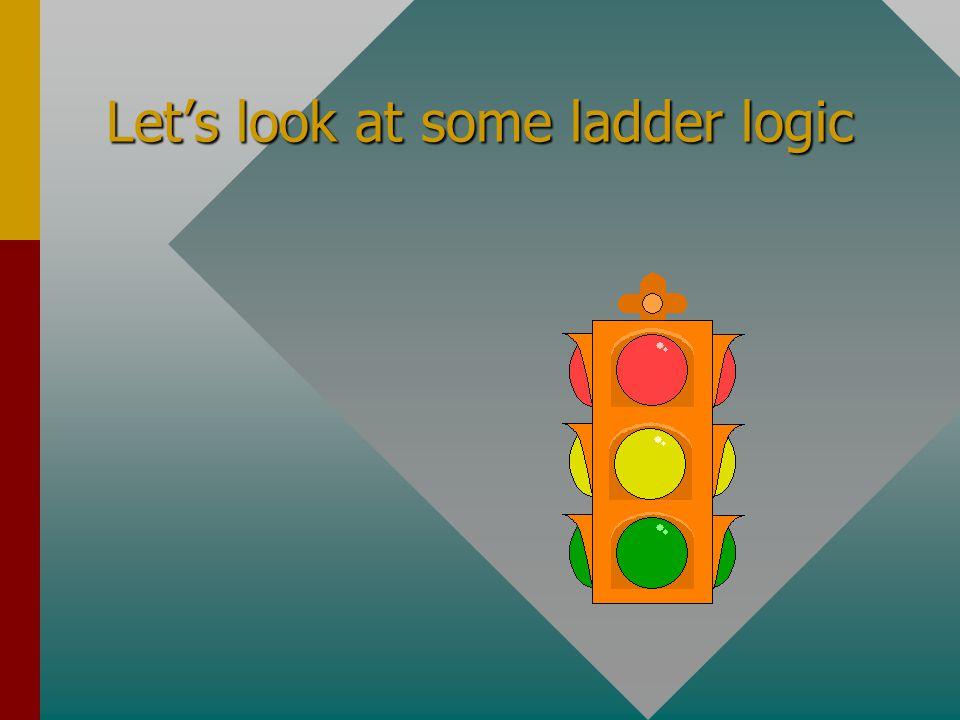 Ladder Logic What is ladder logic ?What is ladder logic ? Must I learn about ladder logic?Must I learn about ladder logic? Is all ladder logic the sam