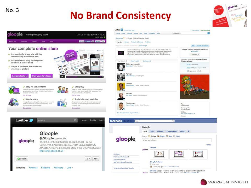 No Brand Consistency No. 3