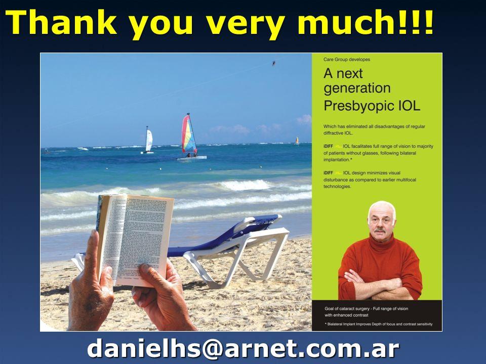 Thank you very much!!! danielhs@arnet.com.ar