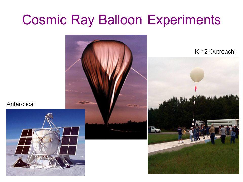 Cosmic Ray Balloon Experiments Antarctica: K-12 Outreach: