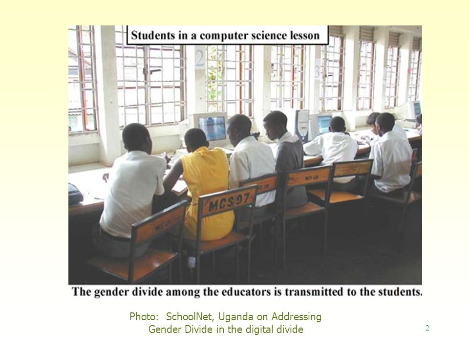 2 Photo: SchoolNet, Uganda on Addressing Gender Divide in the digital divide