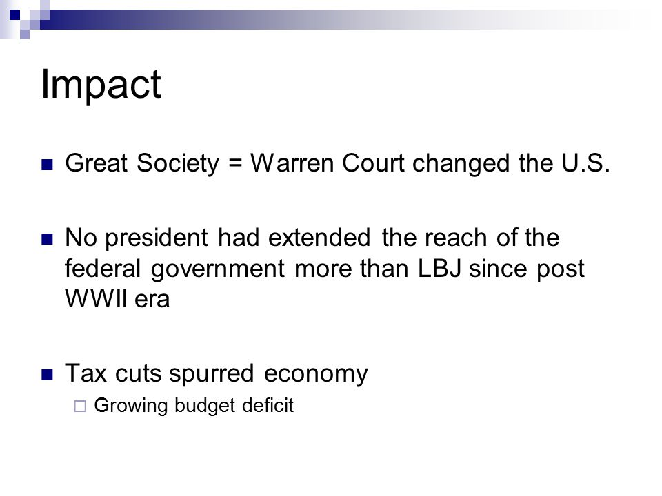 Warren Court Cont.