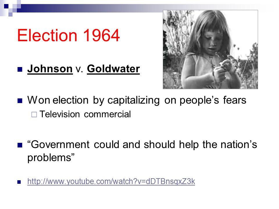 Election 1964 Johnson v.