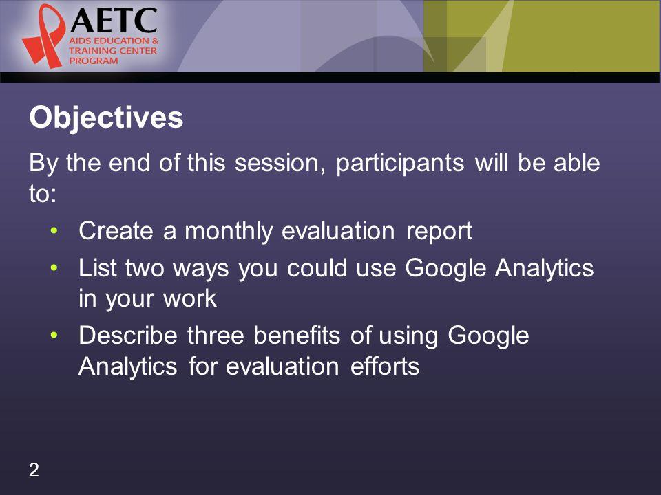 Using Google Analytics Nicolé Mandel 3