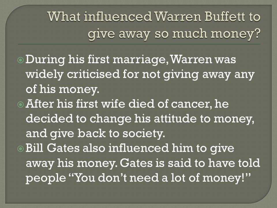  Warren's company – Berkshire Hathaway – is a multi-billion dollar government bond insurance company.