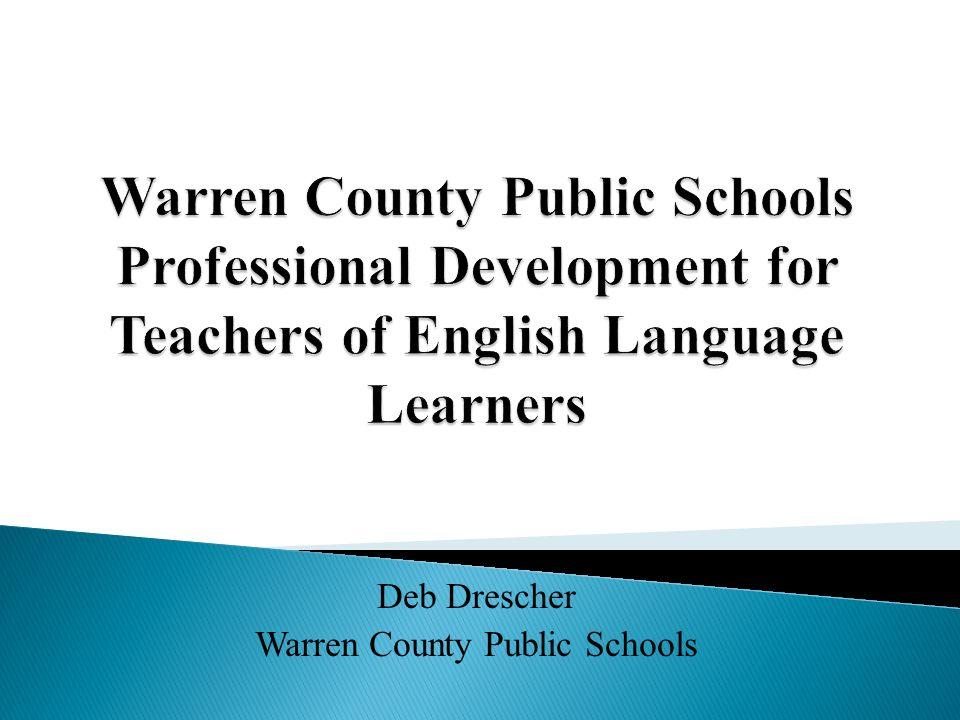 Deb Drescher Warren County Public Schools