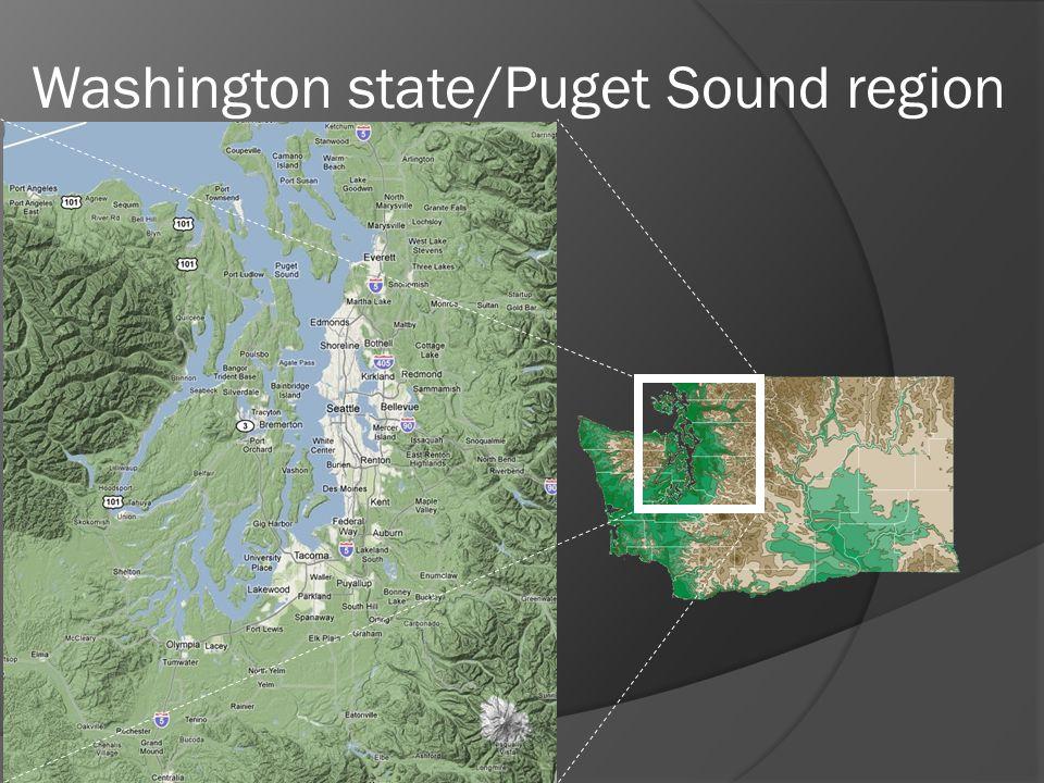 Washington state/Puget Sound region