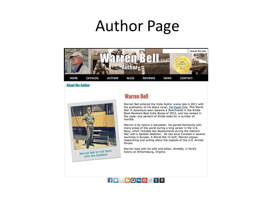 Author Page