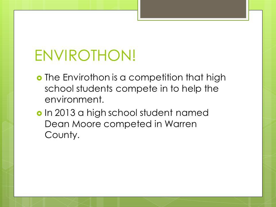 ENVIROTHON.