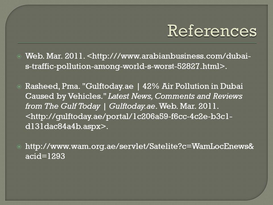  Web. Mar. 2011..  Rasheed, Pma.