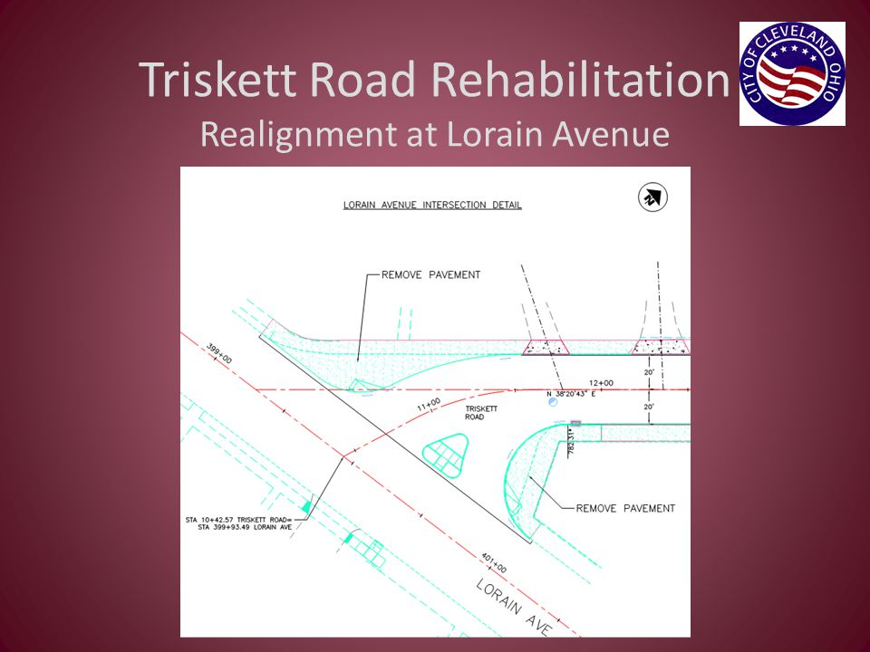 Triskett Road Rehabilitation Realignment at Lorain Avenue