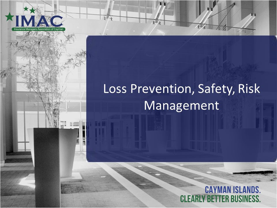 Loss Prevention, Safety, Risk Management